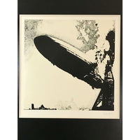 Led Zeppelin I Lithograph by orig. artist George Hardie
