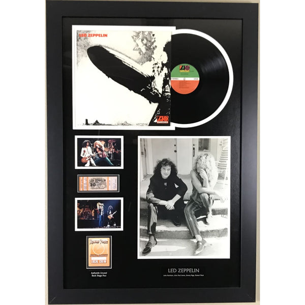 Led Zeppelin Memorabilia Collage - Large