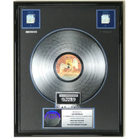 Led Zeppelin The Song Remains The Same RIAA 2x Multi-Platinum Award presented to Led Zeppelin - RARE