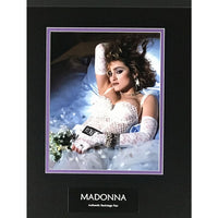 Madonna Memorabilia Collage With 2005 Backstage Pass
