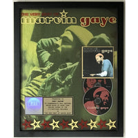 Marvin Gaye Very Best Of RIAA Gold Album Award - Record Award