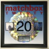Matchbox 20 20x Platinum Label Award