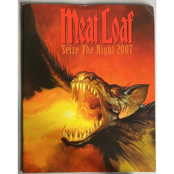 Meatloaf 2007 Seize The Night Tour Program - Music Memorabilia