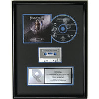 Megadeth Countdown To Extinction RIAA Platinum Album Award - Record Award