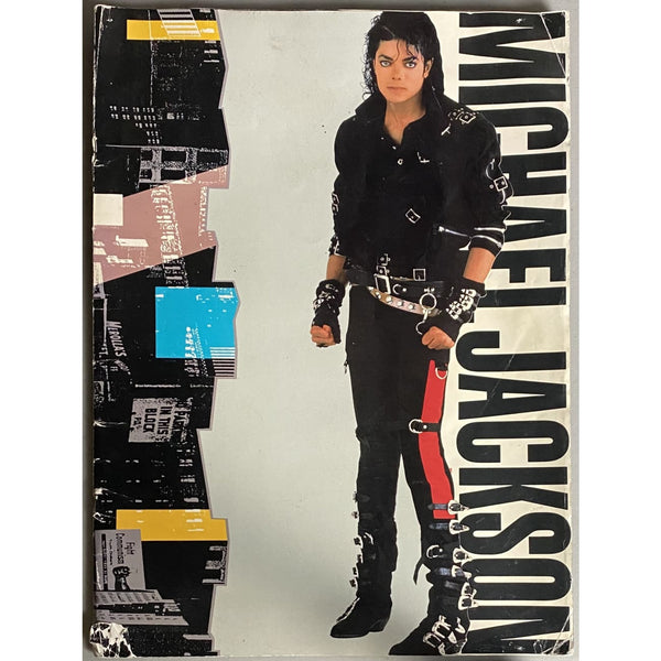 Michael Jackson 1988 World Tour Concert Program - Music Memorabilia