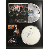 Mötley Crüe Collage Signed by Tommy Lee w/BSA COA