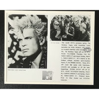 MTV 1987 Press Photo & Pass Collage