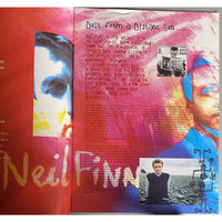 Neil Finn 1998 World Tour Concert Program - Music Memorabilia