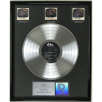 Nirvana MTV Unplugged RIAA 3x Multi-Platinum LP Award - RARE - Record Award