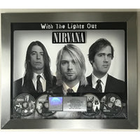 Nirvana With The Lights Out RIAA Platinum Award