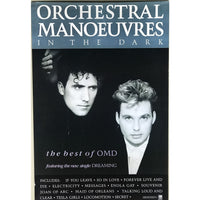 OMD Best Of 1998 Promo Poster