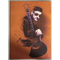 Paul Carrack 2000 Satisfy My Soul Tour Program - Music Memorabilia