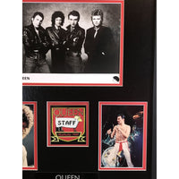 Queen Collage With 1985 Backstage Pass