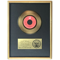 Queen Crazy Little Thing Called Love RIAA Gold 45 Single Award presented to Freddie Mercury - RARE