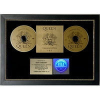 Queen Greatest Hits I & II RIAA Gold Album Award - Record Award