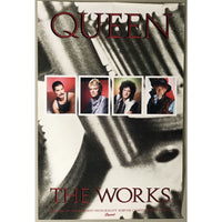 Queen The Works 1984 Promo Poster