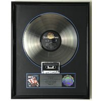 Rocky IV Soundtrack RIAA Platinum Album Award