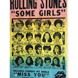 Rolling Stones 1978 Some Girls Original Promo Poster