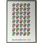 Rolling Stones 40 Licks Limited Edition Poster - Framed
