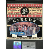 Rolling Stones Rock And Roll Circus RIAA Video Award presented to Bill Wyman - RARE - Record Award