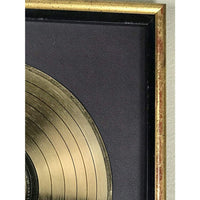 Rolling Stones Sucking In The 70s RIAA Gold LP Award