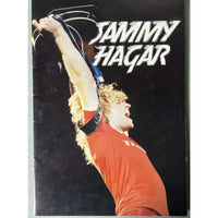 Sammy Hagar 1980 Concert Tour Program - Music Memorabilia