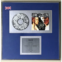 Sex Pistols Kiss This BPI Silver LP Award presented to Steve Jones - RARE