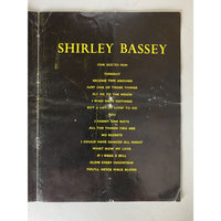 Shirley Bassey 1960s UK Concert Program - Music Memorabilia