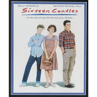 Sixteen Candles Movie Collage