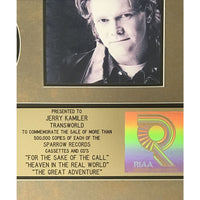 Steven Curtis Chapman RIAA Gold Multi-Album Award