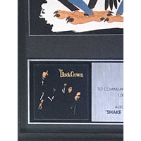 The Black Crowes Shake Your Money Maker RIAA Platinum Album Award