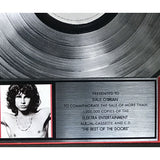 The Doors Best Of The Doors RIAA Platinum Album Award
