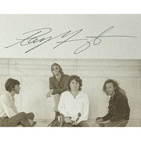 The Doors Limited Edition Lithograph Signed by Densmore Manzarek Krieger w/BAS LOA - Poster