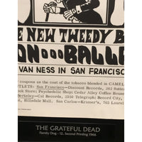 The Grateful Dead Original Vintage Family Dog Concert Poster