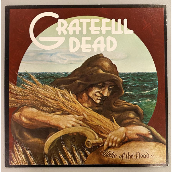 The Grateful Dead Wake of the Flood Promo Card