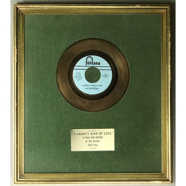 The Mindbenders A Groovy Kind Of Love 1966 Label No 1 Award