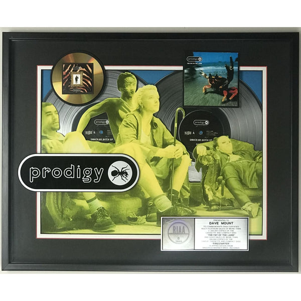 The Prodigy Fat Of The Land RIAA 2x Platinum Award