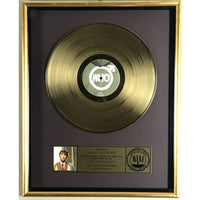 The Who Quadrophenia Riaa Gold Lp Award Presented To Booker T & The Mgs - Rare