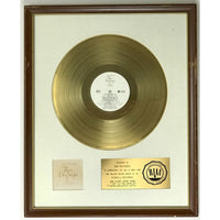 Three Dog Night White Matte RIAA Gold LP Award - RARE