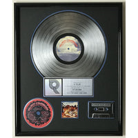 Tom Petty Into The Great Wide Open RIAA Platinum Album Award