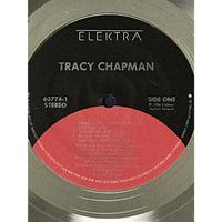 Tracy Chapman debut RIAA 2x Multi-Platinum Album Award - Record Award