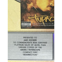 Tupac: Resurrection RIAA Platinum Album Award