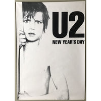 U2 New Years Day UK Promo Poster