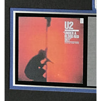 U2 Under A Blood Red Sky RIAA Platinum Album Award presented to Bono - RARE - Record Award