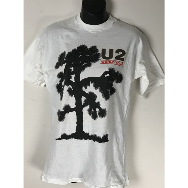 U2 World Tour Vintage T-shirt 80s - Music Memorabilia