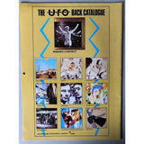 UFO 1983 Concert Tour Program & Calendar - Music Memorabilia