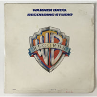 Van Halen Original Acetate for Beautiful Girls (1979) with production notes - RARE