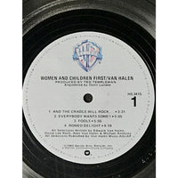 Van Halen Women And Children First RIAA Platinum LP Award