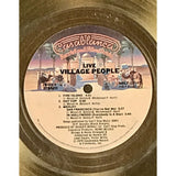 Village People Live And Sleazy RIAA Gold LP Award