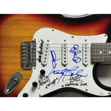 Woodstock guitar signed by 6 Woodstock artists w/JSA LOA - Guitar